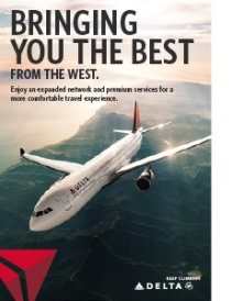 Delta Air Lines West Coast Overview