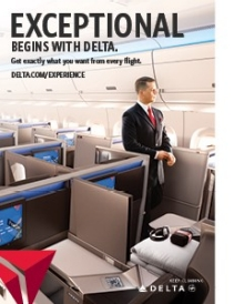 Delta Air Lines Onboard Experience