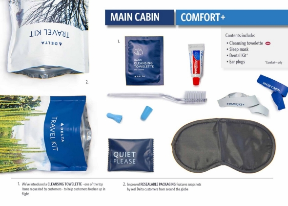 Main Cabin Amenity Kit