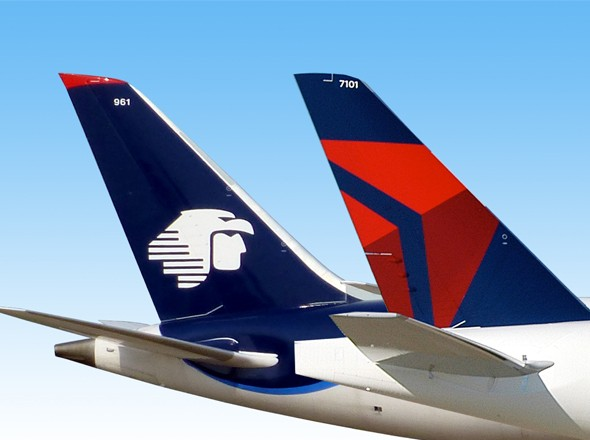 Aeromexico and Delta Flight Attendants