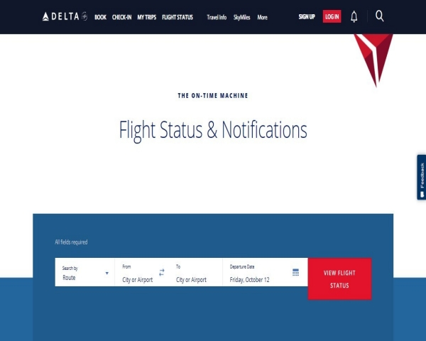 Flight Status & Notifications Image